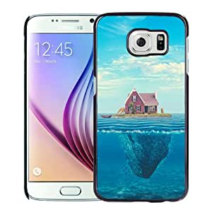 Fashion DIY Custom Designed Samsung Galaxy S6 Phone Case For House On Ocean Phone Case Cover