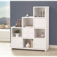 Coaster Home Furnishings 801169 Bookcase, White