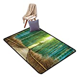 House Decor Area Rugs Floor Covers, Path to Bamboo
