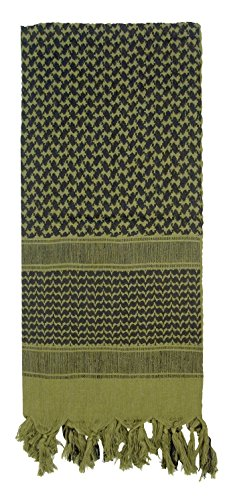 (Rothco Shemagh Tactical Desert Scarf, Olive DRAB)