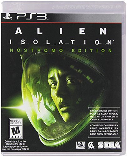 Alien: Isolation - PlayStation 3, Nostromo Edition (Scary Ps3 Games)