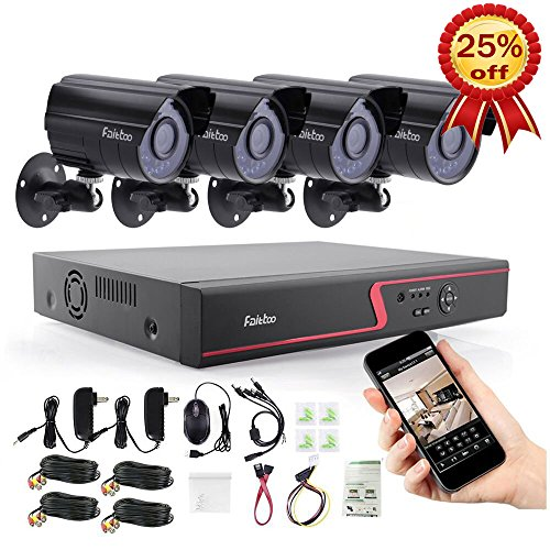Security Cameras Outdoor Faittoo Surveillance product image
