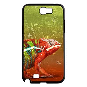 Samsung Galaxy Note 2 Case Chameleon Protector for Girls, Samsung Galaxy Note2 Cases for Men Nuktoe, {Black}