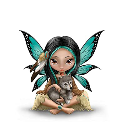 Jasmine Becket-Griffith Native American-Inspired Fairy Figurine by The Hamilton Collection