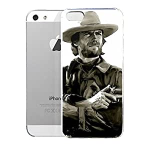 Case for iPhone 5/5s Landmarks American Outlaw Clint Eastwood