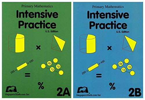 Download Primary Math Intensive Practice 2A and 2B PDF
