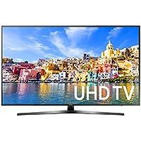 Samsung UA55KU7000 4K UHD Multi-System Smart Wi-Fi LED TV 110-240 V with Free HDMI Cable, 55, Black