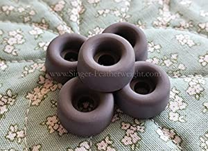 Rubber Bed Cushion Feet for The Singer Featherweight from The Featherweight Shop