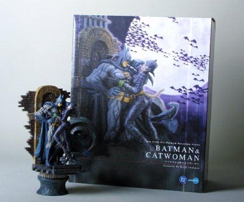 Batman & Catwoman Japanese Import Statue (Kotobukiya)
