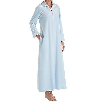 Amanda Rich Velour Zip Front Robe (607-37) at Amazon Women s ... bfe508f44
