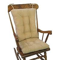The Gripper Non-Slip Polar Jumbo Rocking Chair Cushions, Sand
