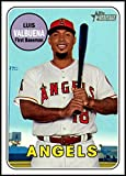 2018 Topps Heritage High Number Baseball #597 Luis Valbuena Los Angeles Angels Official MLB Trading Card