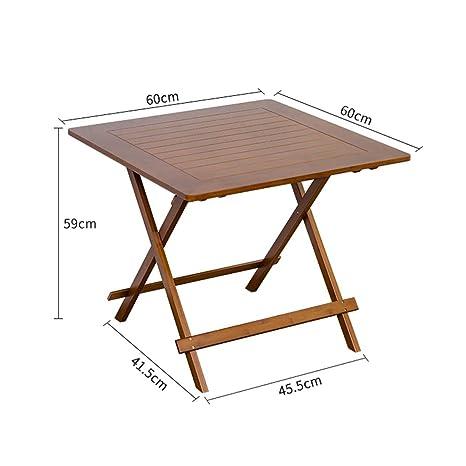 Amazon.com: Sillas de mesa cuadradas de bambú, sillas de ...