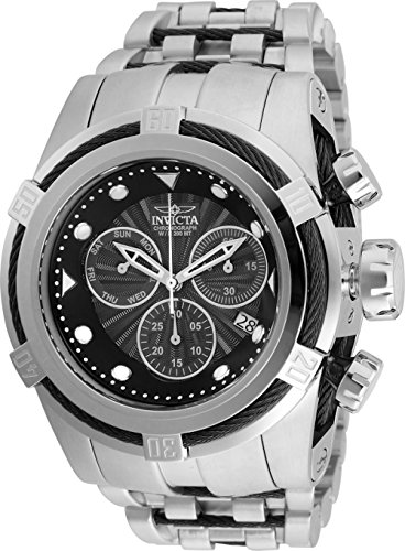 32 Ss Stainless Steel Watch - Invicta Men's Bolt Quartz Watch with Stainless Steel Strap, Silver, 32 (Model: 23908)