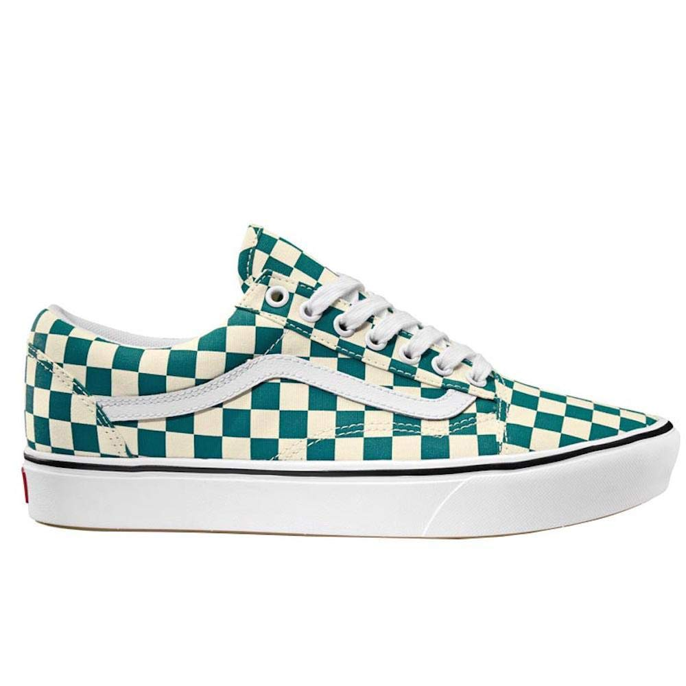 ac40aed420f2a Amazon.com | Vans Unisex ComfyCush Checker Old Skool Sneakers | Fashion  Sneakers