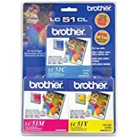 BROTHER LC513PKS / Brother LC513PKS - Yellow, cyan, magenta - original - ink cartridge - for DCP 350, FAX 2580, IntelliFAX 1860, 1960, 2580, MFC 230, 3360, 465, 5860, 685, 845, 885