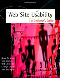 Web Site Usability: A Designer's Guide (Interactive Technologies)