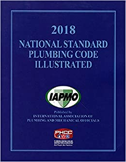 2018 National Standard Plumbing Code Illustrated with Tabs
