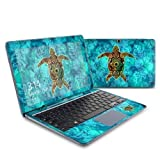Sacred Honu Design Protective Decal Skin Sticker (High Gloss Coating) for Samsung ATIV Smart PC 500T Tablet + Keyboard by MyGift