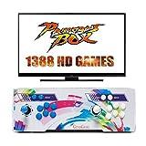 [1388 HD Arcade Games] GroGou Arcade Video Game Console 1388 Retro Games Pandora Box 5s Plus Arcade Machine Double Arcade Joystick Built-in Speaker