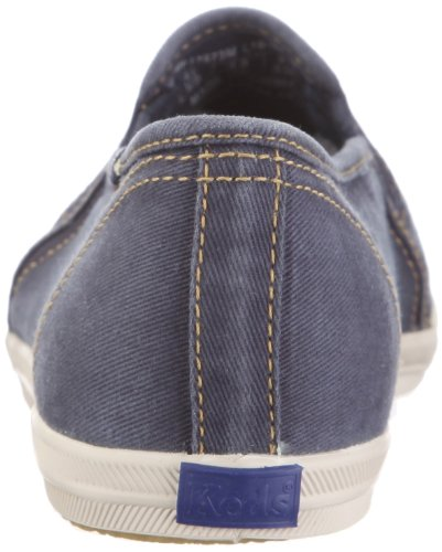 Keds Champion Not Too Shabby Slip On WF37673 - Zapatillas de tela para mujer, color azul, talla 39.5 Azul (Blau/Navy)
