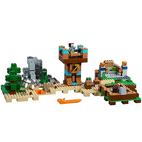 LEGO Minecraft The Crafting Box 2.0 21135 Building Kit (717 Piece) -