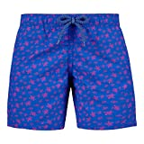 Vilebrequin Big Boys Kids Micro Ronde Des Tortues Swimtrunk-8 yrs, sea Blue, 8