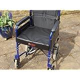 Posture Cushion - Thick Memory Foam Vinyl Covered Wheelchair Cushion - 18 x 18 x 3 inches