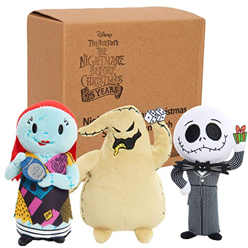 Nightmare Before Christmas Stylized 3Pk Beans- Brown Mailer