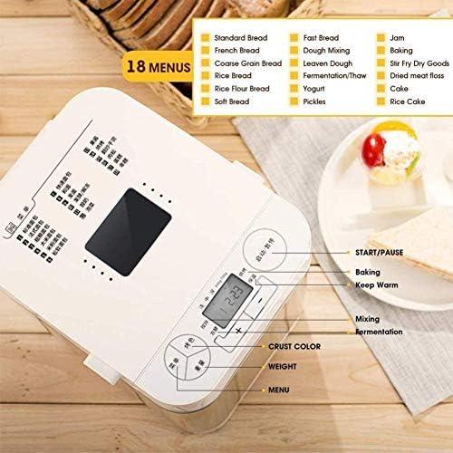 MISLD Machine À Machine À Pain Écran LCD Intelligent 450w Machine À Maker Gâteau De Yogourt Outils Accueil DIY Cuisine Pain Machine
