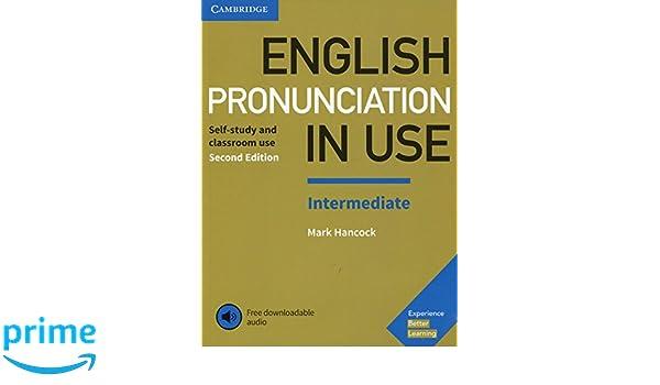 Amazon com: English Pronunciation in Use Intermediate Book with