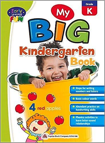 Early Learning Fun My Big Kindergarten Book Early Learning Series
