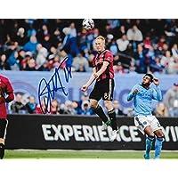 fan products of Signed Jeff Larentowicz Photo - Atlanta United FC 8x10 MLS 2 - Autographed Soccer Photos