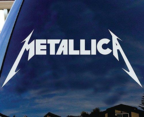 LA DECAL Metallica American Hard rock Metal band Logo Album cover car SUV 6