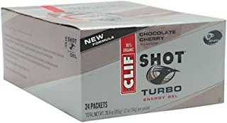 product image for CLIF BAR, INC., Clif Shot Turbo Energy Gel - Chocolate Cherry
