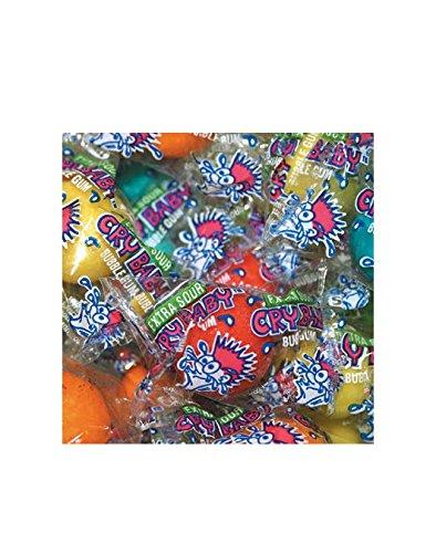 Dubble Bubble Cry Baby Sour Gumball - 850 ct. [Misc.] [Misc.] (Baby Bubble Gum)