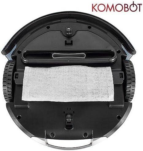 Omnidomo-KomoBot-Robot Aspirador Inteligente, 25 W, Batería de ...