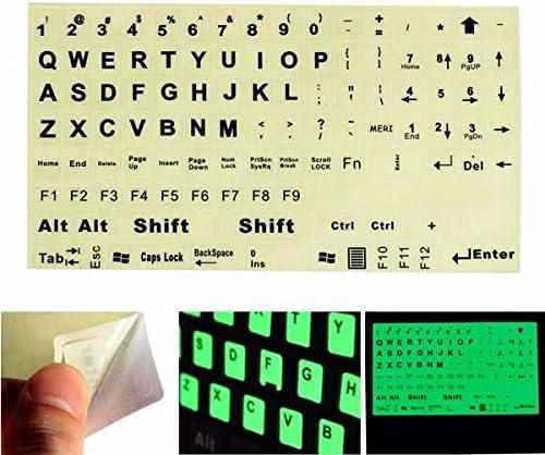 Moppi Inglés nous teclado pegatina fluorescente grandes ...