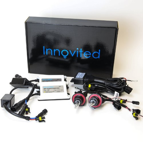 Innovited AC 55W BI-XENON HI/LOW DUAL BEAM HID Kit - H13 9008 6000K - 2 Year Warranty