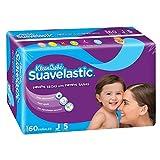 KleenBebé Pañal Desechable para Bebé Suavelastic, Unisex, Jumbo, 60 Piezas