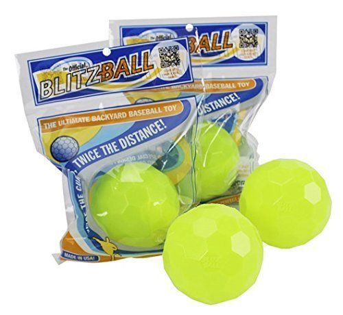 Blitzball Plastic Baseball (4 Pack) - Curve Training Baseball