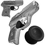 2 Pack Ruger LCP 380 Quick Release Concealed Carry Micro Holster Trigger Stop by Garrison Grip (Black)