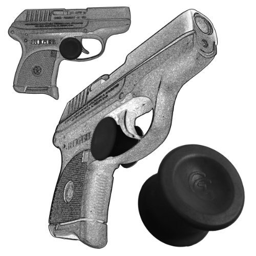 3 Pack Ruger LCP 380 Quick Release Concealed Carry Micro Holster Trigger Stop by Garrison Grip (Black)