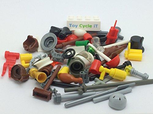 X20 Lego Minifigure Accessories Flippers