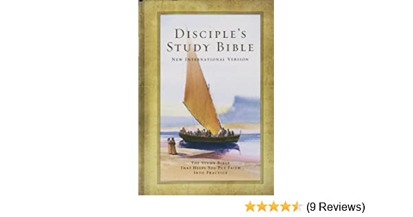 Disciples Study Bible New International Version 9781558199484
