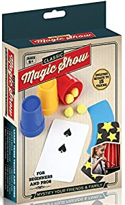 Magic Tricks Kit Set - Classic Magic Show Kit for Kids Boys Girls - Magician Accessories In Attractive Gift Box With Instructions - Best Gift For Birthdays Parties