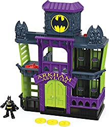 Batman is hard at work, patrolling the streets of Gotham City for signs of trouble. Luckily, most of the worst Super-Villains are locked away in Arkham Asylum. Or are they? A turn of a Power Pad opens all the jail doors at once. JAIL BREAK! Oh no, Go...