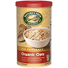 Nature's Path Organic Oats, Old Fashioned, 18 Ounce Canister (Pack of 6)