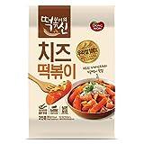 [Dongwon] [God of tteokbokki] Cheese tteokbokki (stir-fried rice cake) / Korean food/Korean tteokbokki/Instant cooking food/Asian dishes (overseas direct shipment)