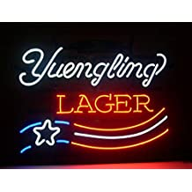 Yuengling Lager Beer neon Light Signs Pub Display Neon Signs Neon Handicrafted Real Glass Tube19x15